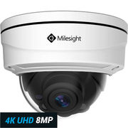 Milesight Pro Dome 8 MP 4K Ultra HD valvontakamera