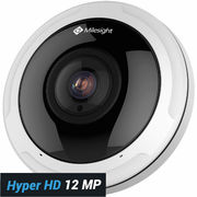 Milesight Pro Fisheye 12MP 360 asteen valvontakamera