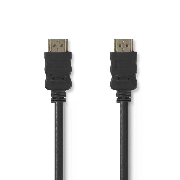 HDMI-kaapeli High Speed with Ethernet 4K musta 5.0 m